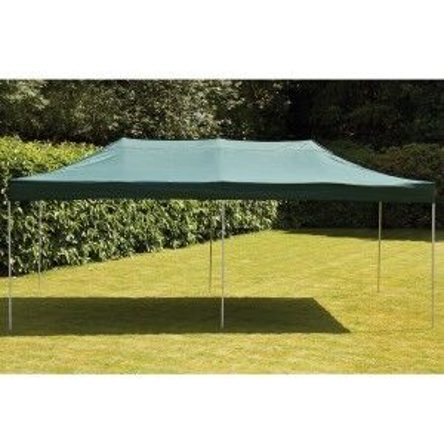 Royalcraft Garden 3 x 6m Pop Up Steel Gazebo in Green