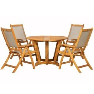 Royalcraft Garden Furniture Henley Wooden 4 Seater Gateleg Dining Set