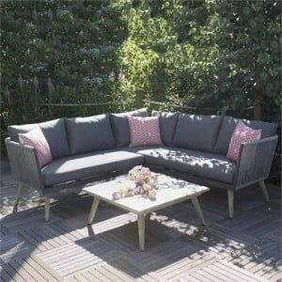 Royalcraft Garden Furniture Milan Corner Lounging Set