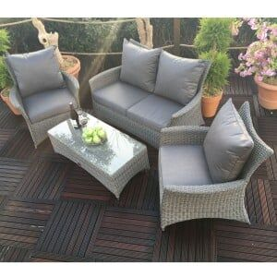 Royalcraft Garden Paris Rattan 2 Seat Sofa Lounging Set
