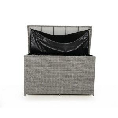 Maze Rattan Garden Furniture Ascot Grey Storage Box