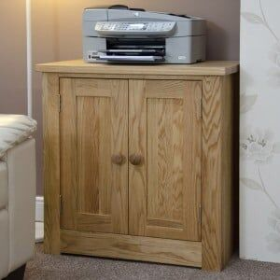 Torino Solid Oak Furniture Printer/Occasional Cabinet