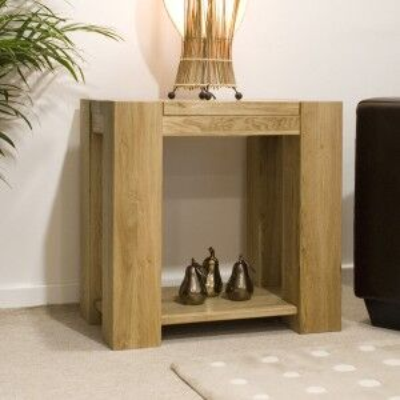 Trend Solid Oak Furniture Lamp Table