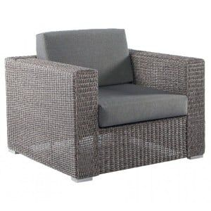 Alexander Rose Monte Carlo Rattan 1 Seater Outdoor Lounge Chair