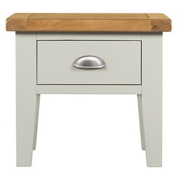 Hove Grey Painted Furniture Lamp Table