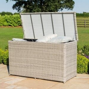 Maze Rattan Garden Furniture Oxford Large Storage Box