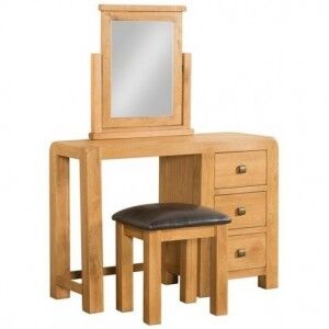 Avon Oak Furniture Dressing Table & Stool