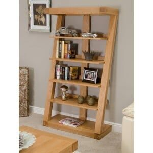 Z Solid Oak Furniture Large Bookcase