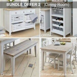 Signature Grey Furniture Dining Room Package