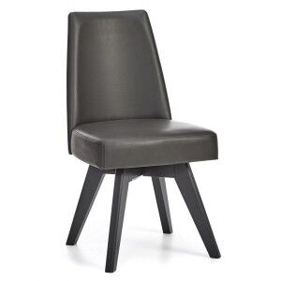 Bentley Designs Brunel Upholstered Swivel Chair - Grey Pair