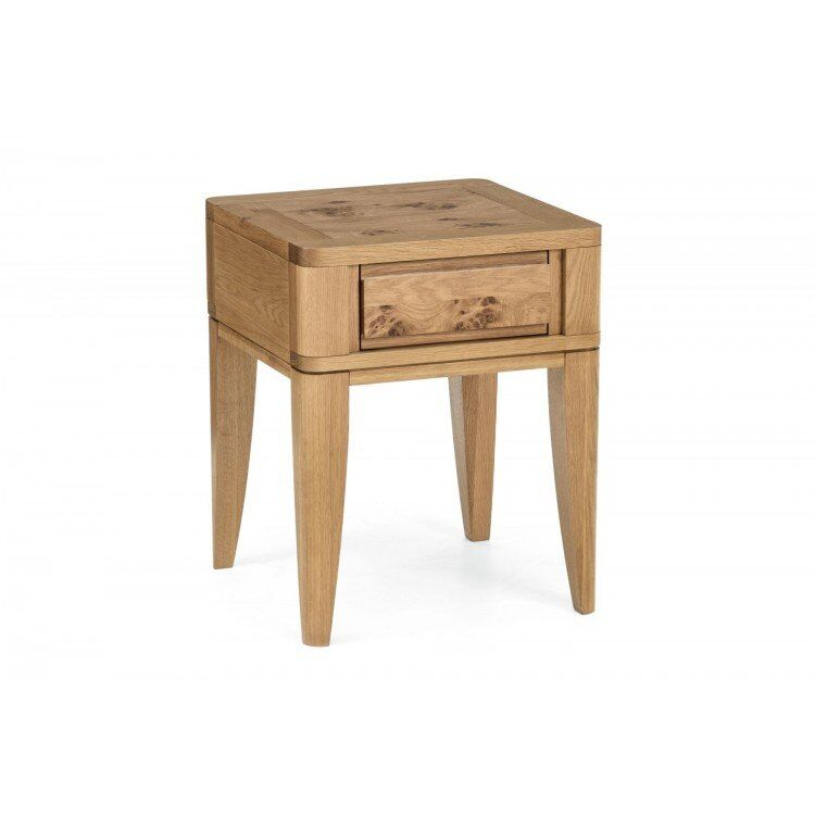 Bentley Designs High Park Lamp Table with Drawer