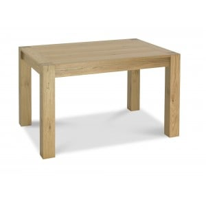 Bentley Designs Turin Light Oak Small End Extending Table