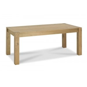 Bentley Designs Turin Light Oak Large End Extending Table