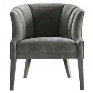Besp-Oak Contemporary Sofas Grey Armchair