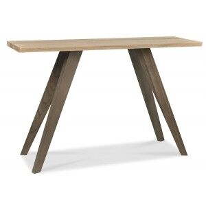 Bentley Designs Cadell Oak Furniture Console Table