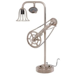 Eclectic Metal Furniture Bicycle Lamp in Vintage Style