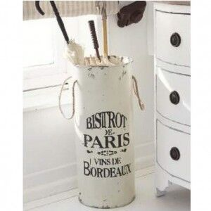 Eclectic Vintage Furniture Umbrella Stand in Parisienne Design