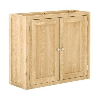 Handmade Oak Kitchens Furniture 2 Door Wall Cabinet
