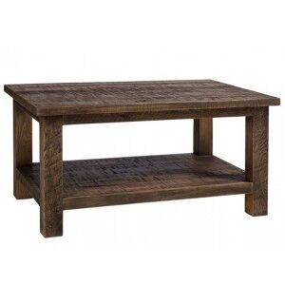 Vancouver Sawn Old Oak Furniture Rectangular Coffee Table