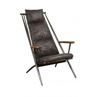 Additions Oak Furniture Huntingdon Aniline Leather Chair