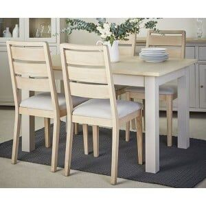 Corndell Furniture Woodstock Painted Dining Set
