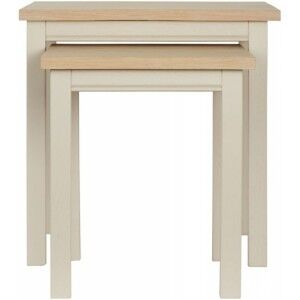 Corndell Furniture Woodstock Painted Nest of Tables