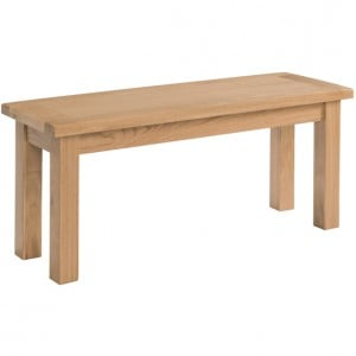 Devonshire Dorset Oak Furniture Bench 140cm