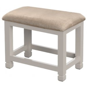 Cobble Grey Painted Furniture Dressing Table Stool