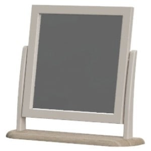 Cobble Grey Painted Furniture Dressing Table Mirror