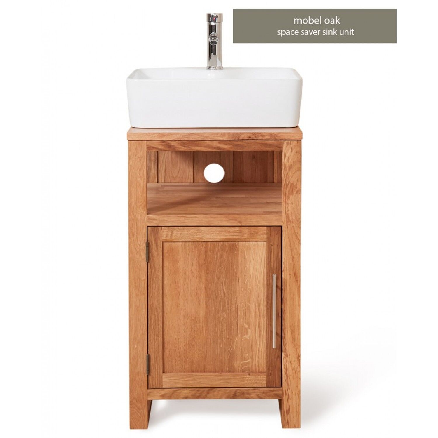 Bathroom 1 Door Square Single Sink Unit