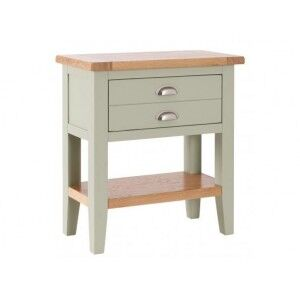 Vancouver Expressions French Grey 1 Drawer Console Table