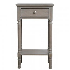 Kavanagh Taupe Painted Telephone Table