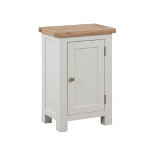 Devonshire Dorset Ivory Painted Furniture Small 1 Door Cabinet