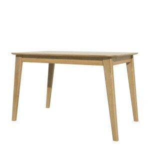 Scandic Solid Oak Furniture Rectangular Dining Table