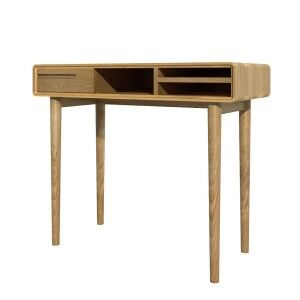 Scandic Solid Oak Furniture Small Computer Desk