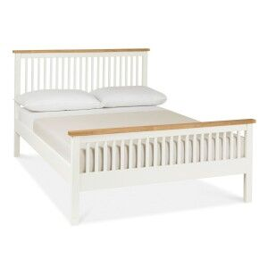 Atlanta Two Tone Painted Furniture Small 4ft Double Bed