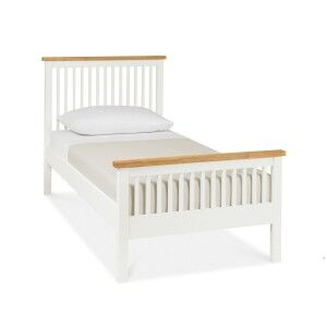 Atlanta Two Tone Painted Furniture Single 3ft Bed