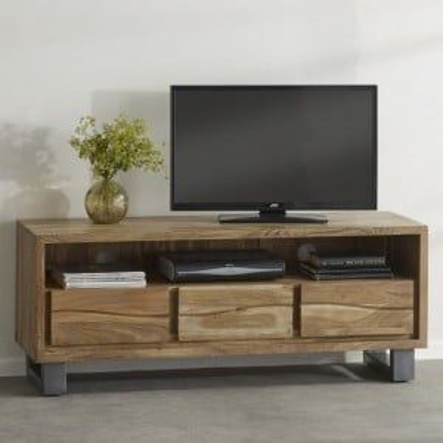 Indian Hub Acacia Baltic Live Edge Furniture Media Unit