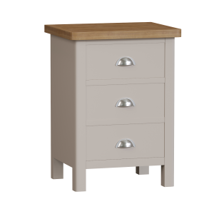 Wittenham Painted Furniture Large Bedside Cabinet