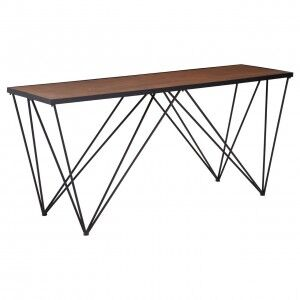 New Foundry Industrial Furniture Lattice Console Table