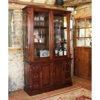 La Roque Mahogany Furniture Dresser Display Cabinet