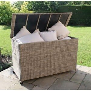 Maze Rattan Garden Furniture Winchester Storage Box