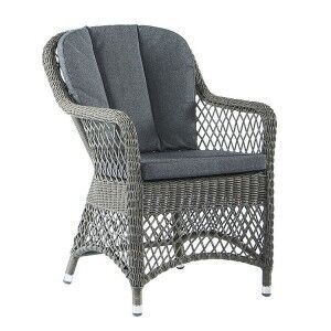 Alexander Rose Monte Carlo Open Weave Armchair with Cushion