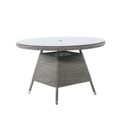 Alexander Rose Monte Carlo Rattan 120cm Round Dining Table