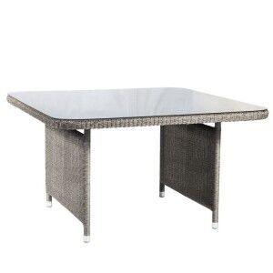 Alexander Rose Monte Carlo Rattan 130cm Square Casual Dining Table