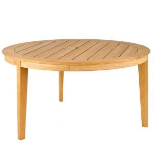 Alexander Rose Garden Furniture Roble 125cm Round Dining Table