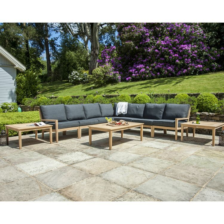 Alexander Rose Garden Furniture Roble Deluxe Corner Lounge Set