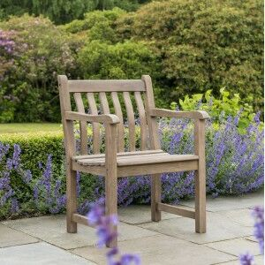 Alexander Rose Garden Furniture Sherwood Acacia Broadfield Armchair