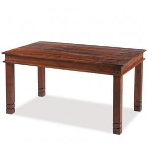 Kanpur Indian Sheesham Chunky Dining Table - 120 x 90