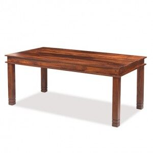 Kanpur Indian Sheesham Chunky Dining Table - 180 x 90